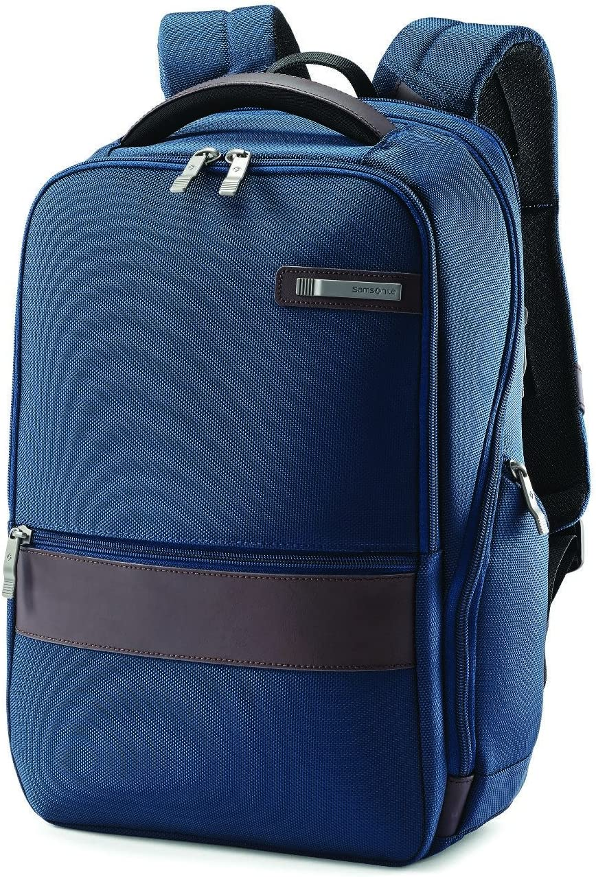 Samsonite Kombi Business Backpack, Legion Blue, 16.25 x 10.5 x 5-Inch