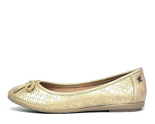super popular 232fa 79d8f Refresh, Ballerine donna oro oro oro Size: 38: Amazon.it ...