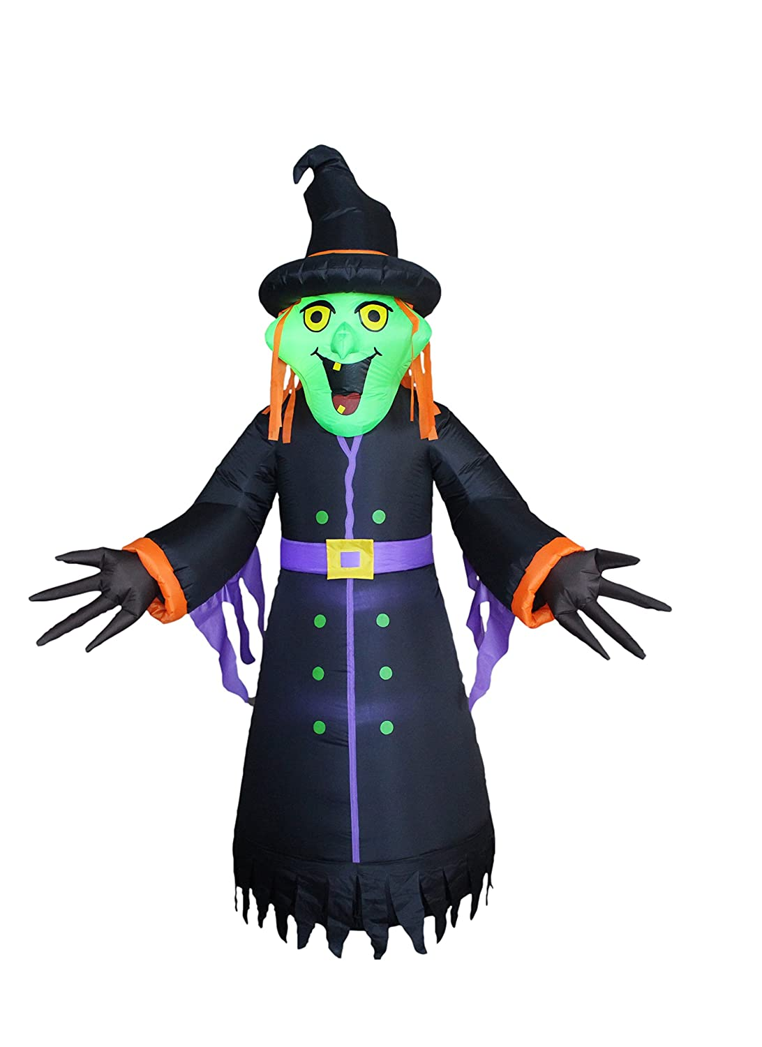 8 Foot Tall Halloween Inflatable Witch New Party Yard Decoration by BZB Goods B01FVQNKJU 15210