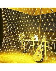Love99 3x2M, Interna Ed Esterna Filo di Luci LED Bianca Calda per Natale, Feste o San Valentino, DGS