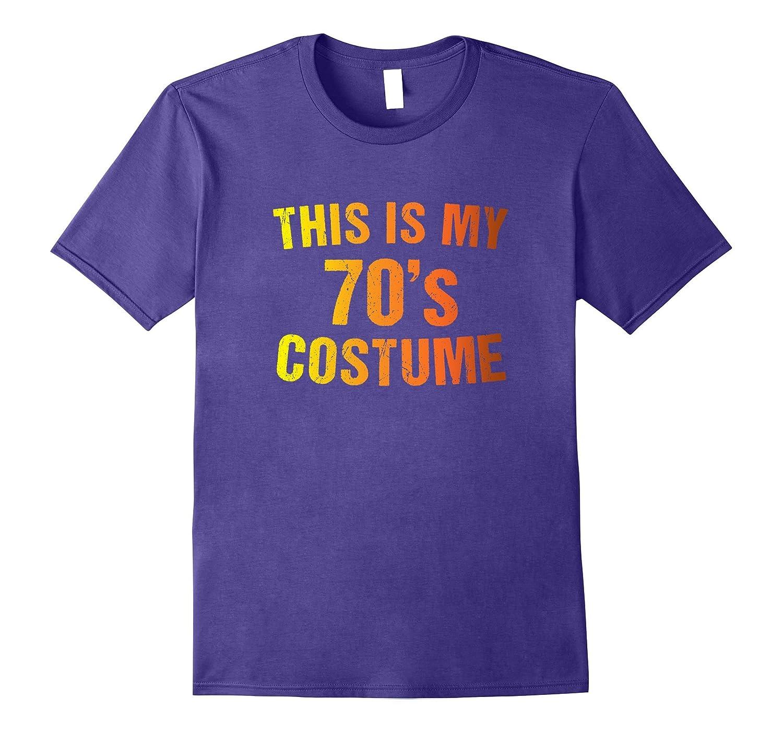 70s Costume Halloween T Shirt Retro 1970s for Men Women Girl-Art