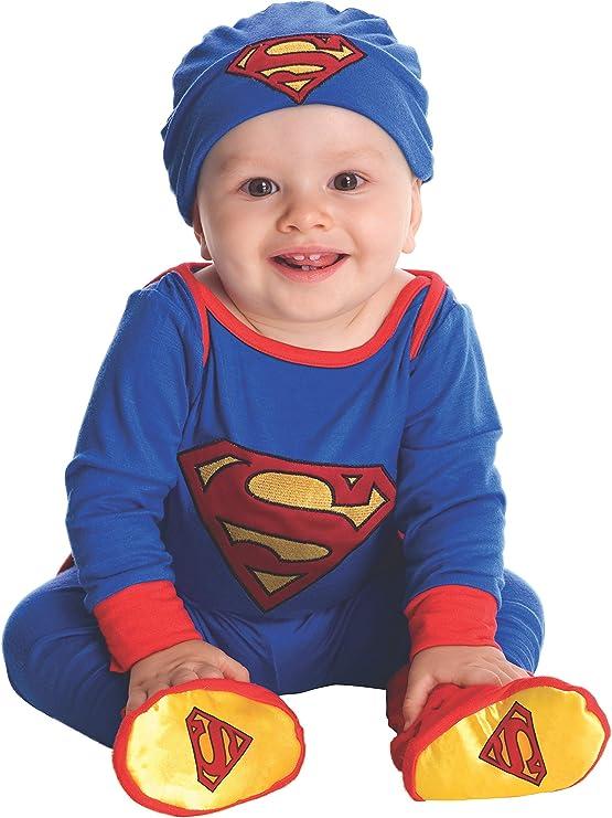 Disfraz de Superman para bebé: Amazon.es: Juguetes y juegos