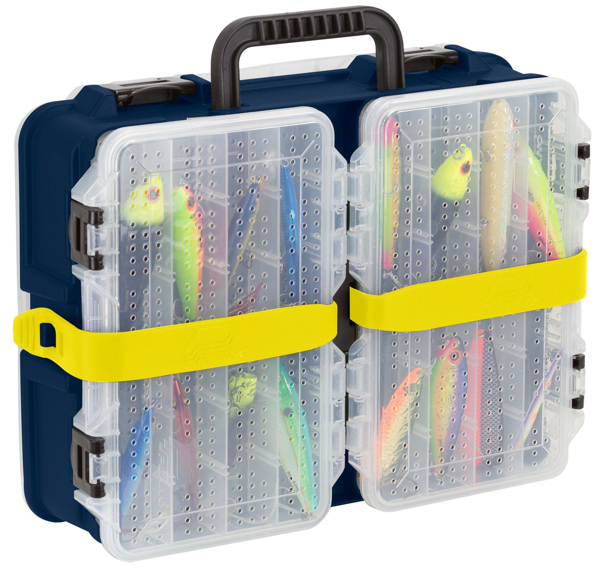 Plano 1123-01 HydroFlo Flex 'N' Go Satchel, Yellow/Blue