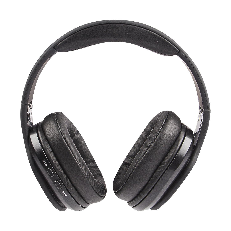 fe078501e77 Amazon.com: Altec Lansing MZX667-BLK Evolution2 Waterproof Bluetooth  Headphones, Black: Cell Phones & Accessories