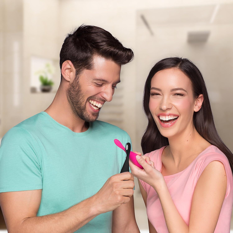 ISSA Play de FOREO, el cepillo de dientes eléctrico sónico, Cool Black: Amazon.es: Salud y cuidado personal