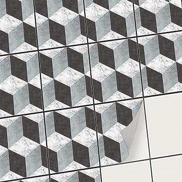 Carrelage Adhesif Cuisine Et Salle De Bain Mosaique Sticker