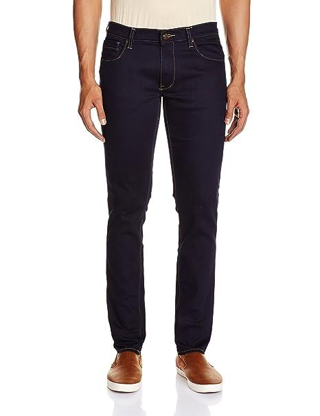 bc0a99fb Lee Men's Luke Slim Fit Jeans (8907222271138_LEJN5327_34W x 33L_Contrast  Raw Rinse)