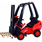 Linde Forklift Pedal Construction Vehicle