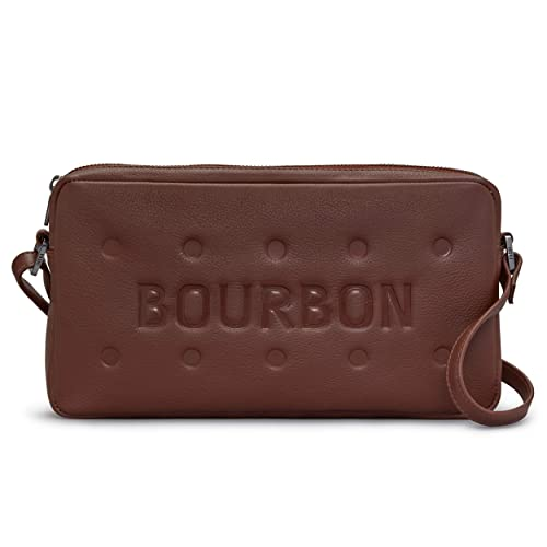Bourbon Biscuit Brown Leather Cross Body Bag   Handbag by Yoshi  Amazon.co. uk  Shoes   Bags 931758ac441e
