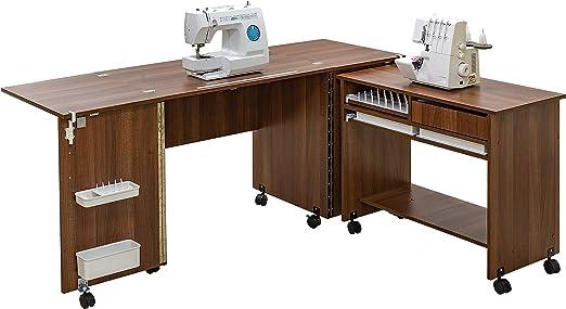 Comfort 7 | Mueble para máquina de coser | (Oak Sorano Natural ...