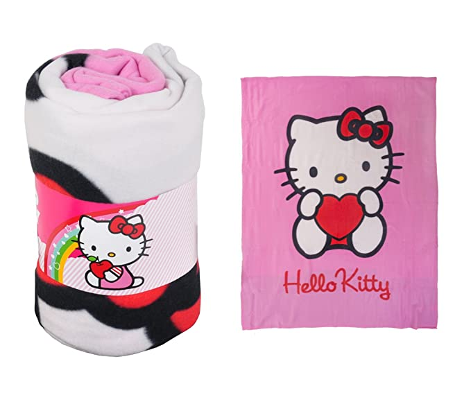 Hello Kitty Polaren Fleecedecke Rosa: Amazon.de: Küche & Haushalt