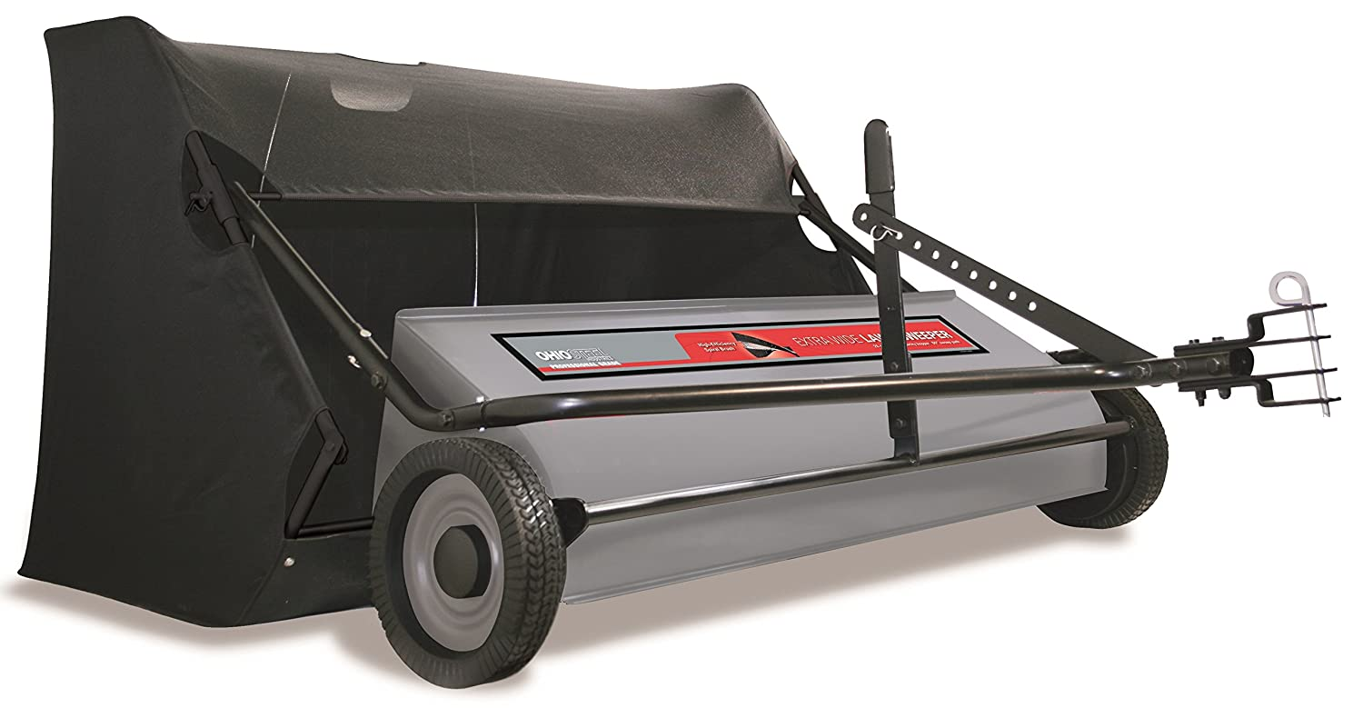 "best lawn sweeper -  Ohio Steel 50SWP26 Pro Sweeper, 50""/26 cu. ft."