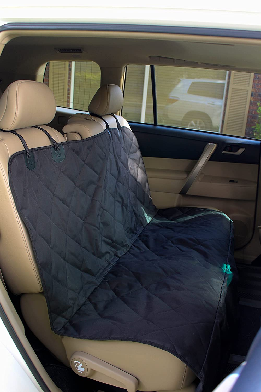 Amazon.com : Pet Seat Cover for Cars - Easy to Clean Quilted ... : quilted car seats - Adamdwight.com