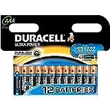 Duracell Ultra Power AAA (LR03) Batteries Alkaline Pack of 12