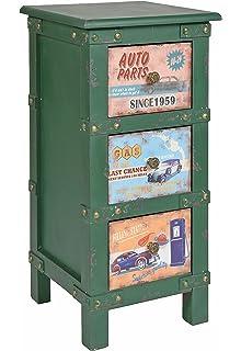 Ts Ideen Kommode Nachttisch Schlafzimmer Bad Regal Wohnzimmer Schrank Container Industrie Design Shabby Vintage