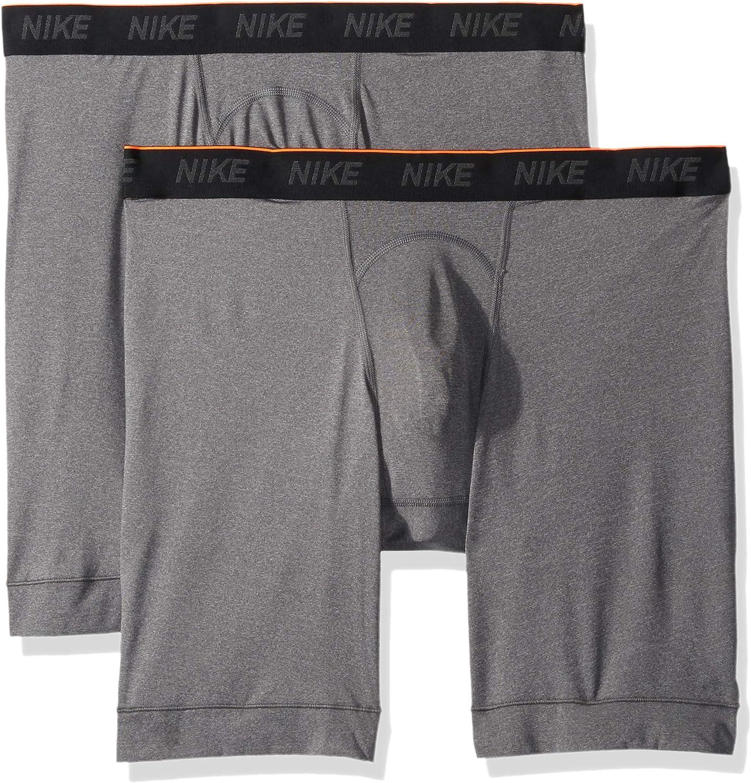 NIKE Mens Long Boxer Briefs (2 Pack): Amazon.es: Ropa y accesorios
