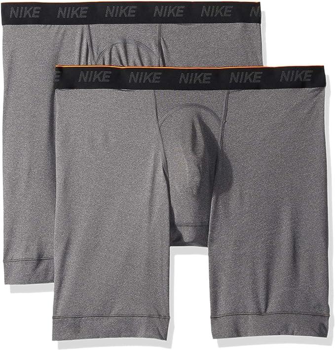 NIKE Men's Long Boxer Briefs (2 Pack