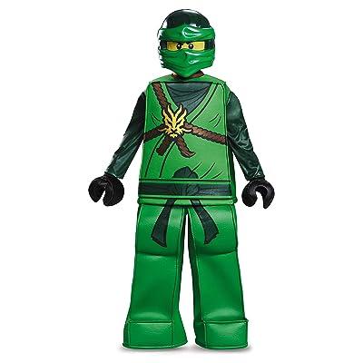 Disguise Lloyd Prestige Ninjago Lego Costume, Small/4-6: Toys & Games