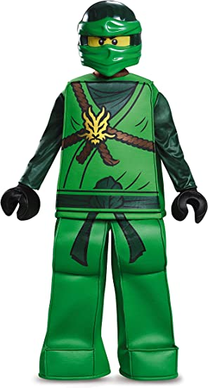 7-8 Years . LEGO Ninjago Movie 23474L Lego Lloyd Classic Costume