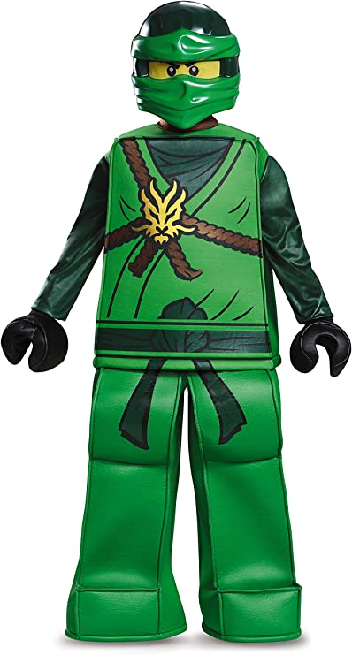 Disguise Lloyd Prestige Ninjago Lego Costume, Medium/7-8