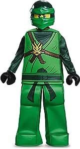 LEGO Ninjago Lloyd Prestige - Disfraz: Amazon.es: Juguetes y juegos