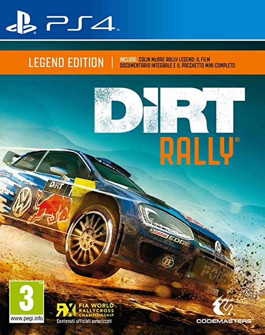 62 opinioni per DiRT Rally: Legend Edition- Day-One Limited- PlayStation 4