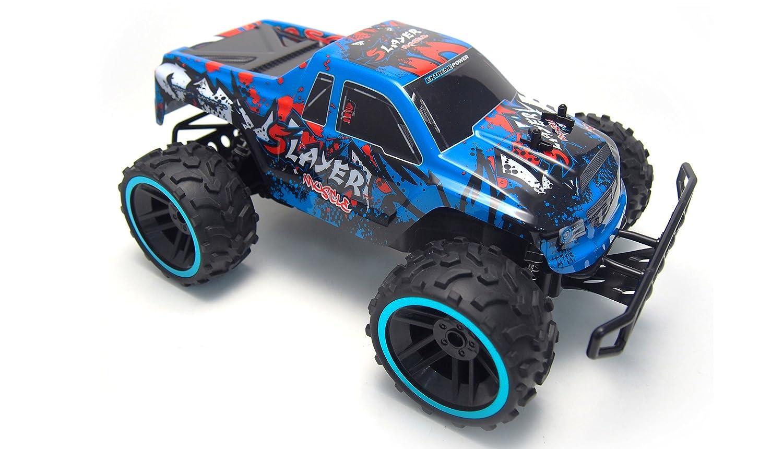 Amewi 22285 Vehículo Smasher – Blue White M1: 12, RTR