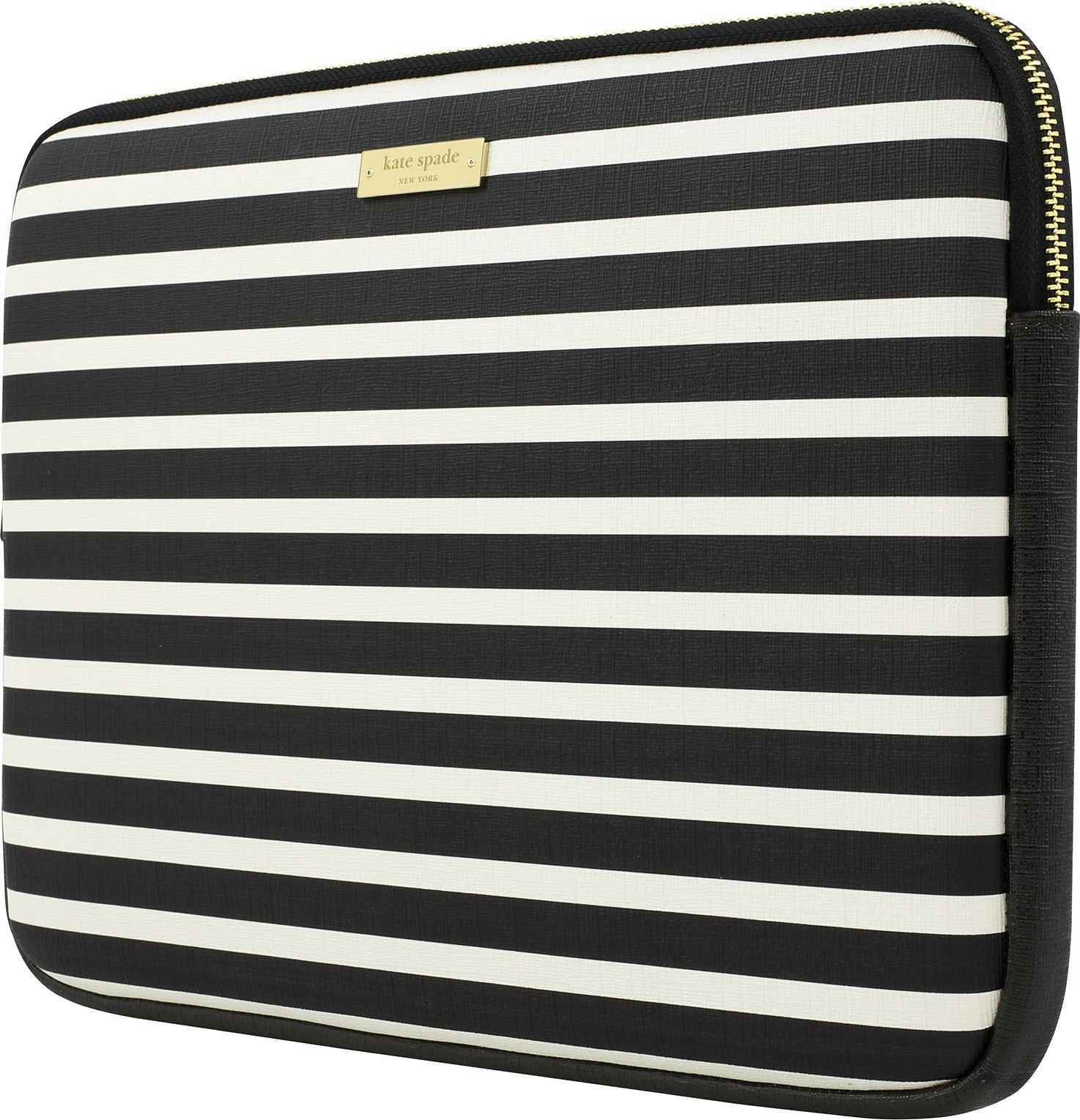 kate spade new york KSMB-012-FSQBC Printed Laptop Sleeve for 13'' MacBook -Fairmont Square Black/Cream by Kate Spade New York