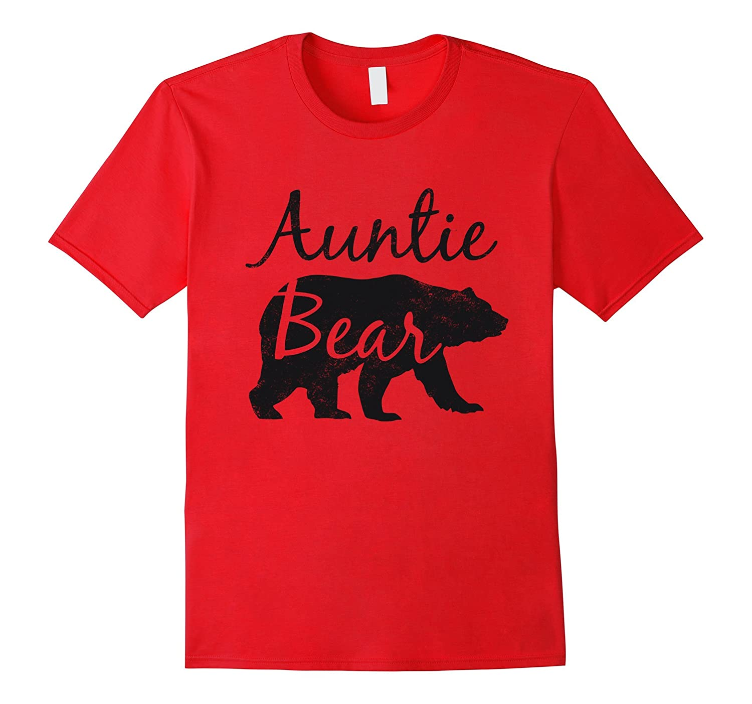 Auntie Bear Tee - Mothers Day  Aunt Gift  Wife-TH