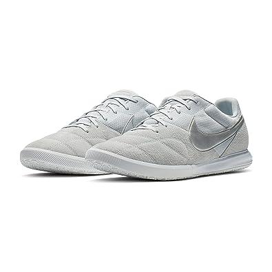 e8ab65a21 Amazon.com   Nike Tiempo Premier II Sala IC Soccer Shoes (Pure Platinum)  (Men's 10.5/Women's 12)   Soccer