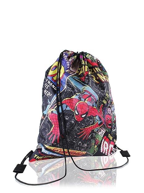 Ultimate Marvel E Borse NavyAmazon Spiderman Sack itScarpe Gym 8wPX0Onk