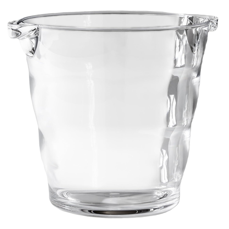 Happy Hour Acrylic Wine Bucket, Clear
