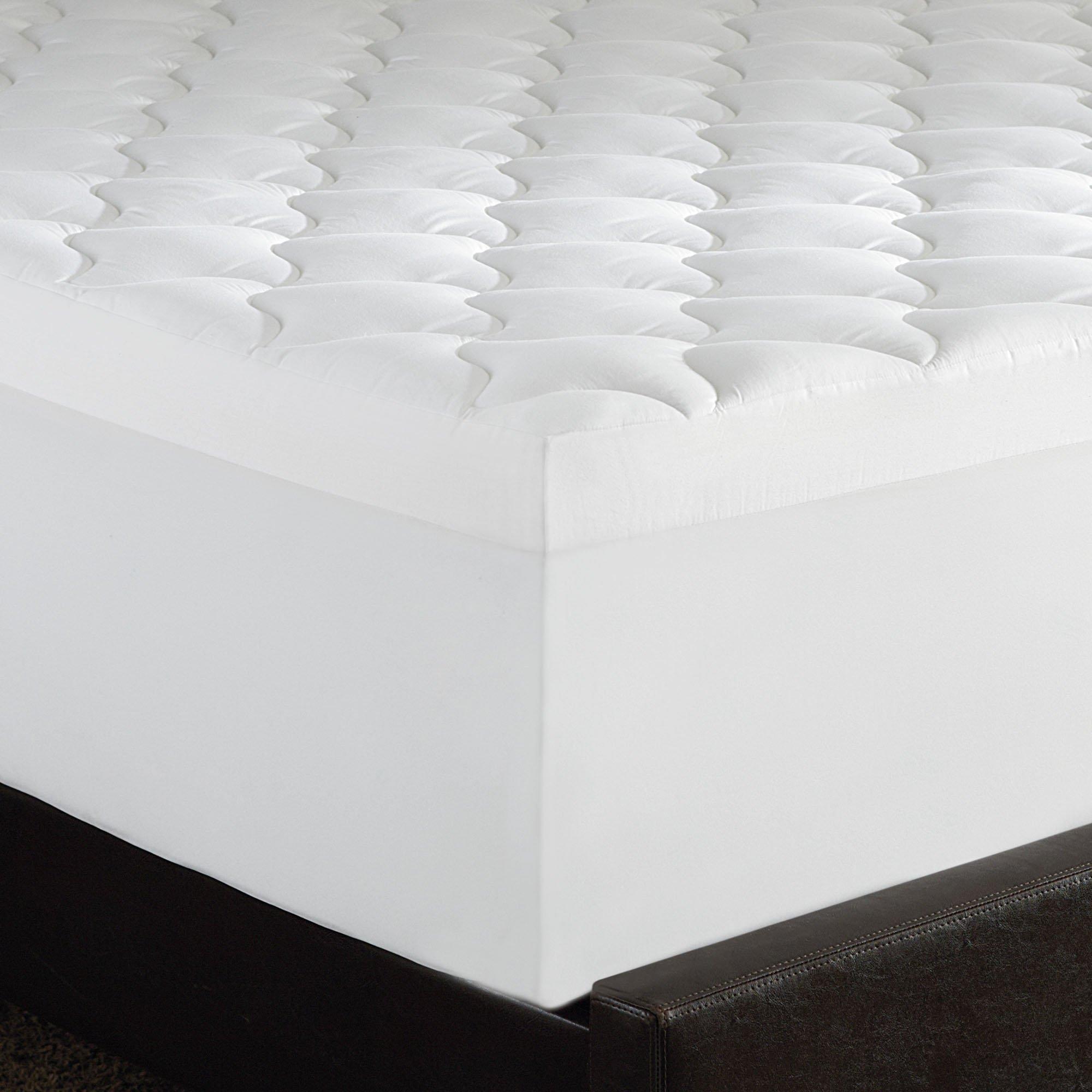 Serta Triple Layer Comfort, 4-Inch Memory Foam Mattress Topper, King