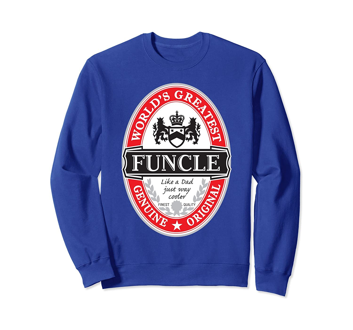 World's Greatest Funcle Fun Uncle Graphic Sweatshirt- TPT