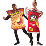 Prungles & Freakin' Hot Cheesies Couples Costume - Funny Chip Junk Food Outfits