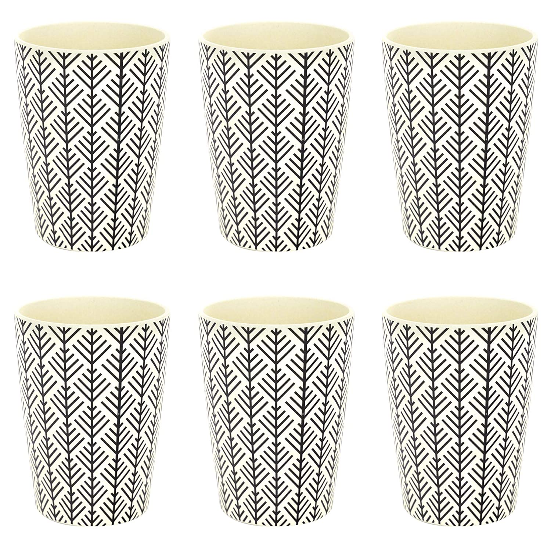 Vasos de bambú reutilizables