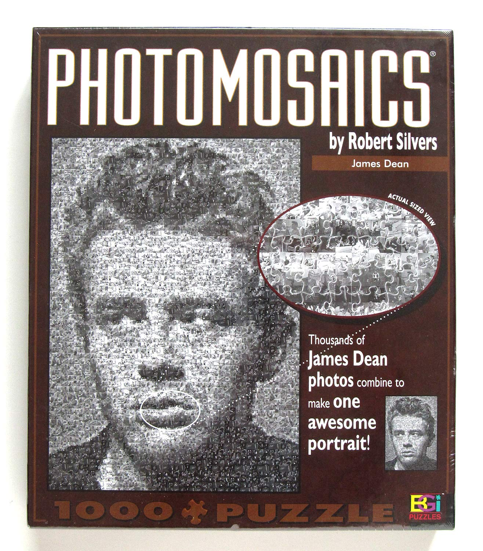 Buffalo Games Photomosaic James Photomosaic Dean Piece 1026 Piece Jigsaw Games Puzzle by Buffalo Games B0006H6G5A, 正規店仕入れの:bc9dcc29 --- sharoshka.org