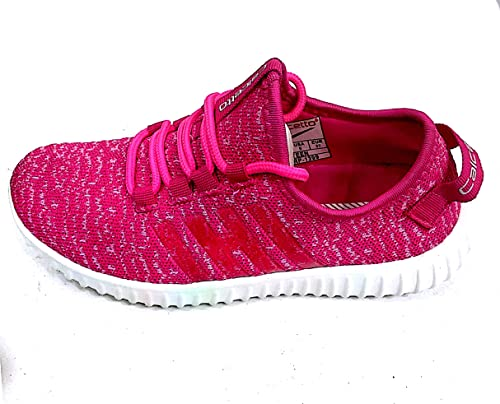 cabf11869ac02d Calcetto Women's Casual Canvas Shoes (Teen -10001197)_Fushia-Coloured 5):  Buy Online at Low Prices in India - Amazon.in