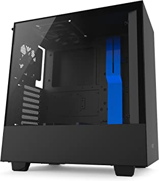 NZXT H500i Compact ATX Mid-Tower PC Gaming Case RGB Lighting and Fan Control