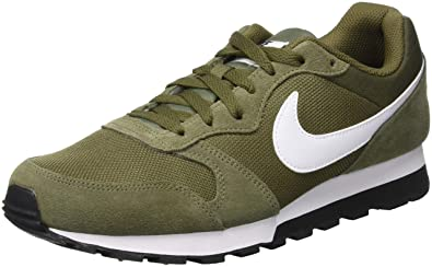 newest 4b42e 53106 Nike Md Runner 2, Herren Gymnastikschuhe, Mehrfarbig (Medium  Olive/White/Black