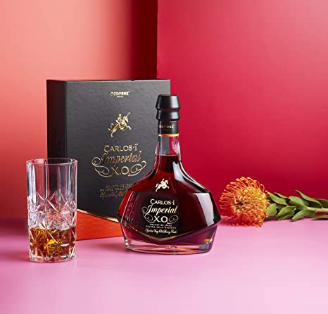 Brandy de Jerez Solera Gran Reserva Carlos I Imperial XO - 1 botella de 70 cl