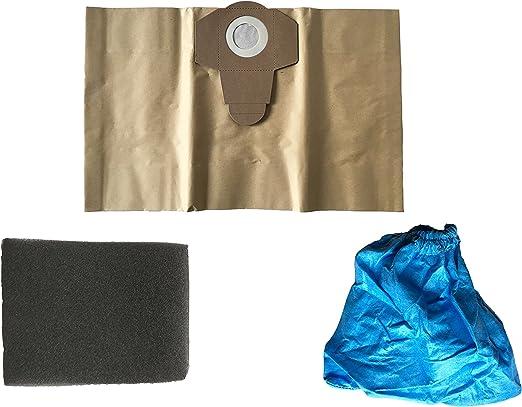 3 piezas Juego de filtros para aspiradoras Einhell mojado ...