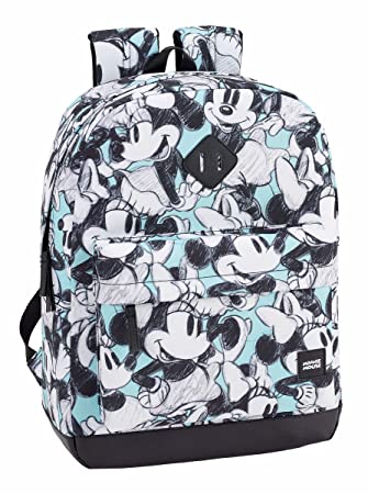 Safta Mochila Escolar Minnie Mouse Junior Oficial 320x140x430mm: Amazon.es: Equipaje