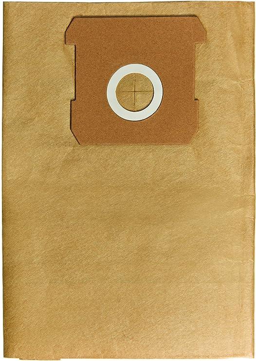 Einhell 2351159 - Pack de 5 bolsas de aspiradora, 12 l, color ...