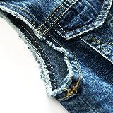 Denim Vest Boys Cotton Fall Sleeveless Denim Jacket Outwear 5T