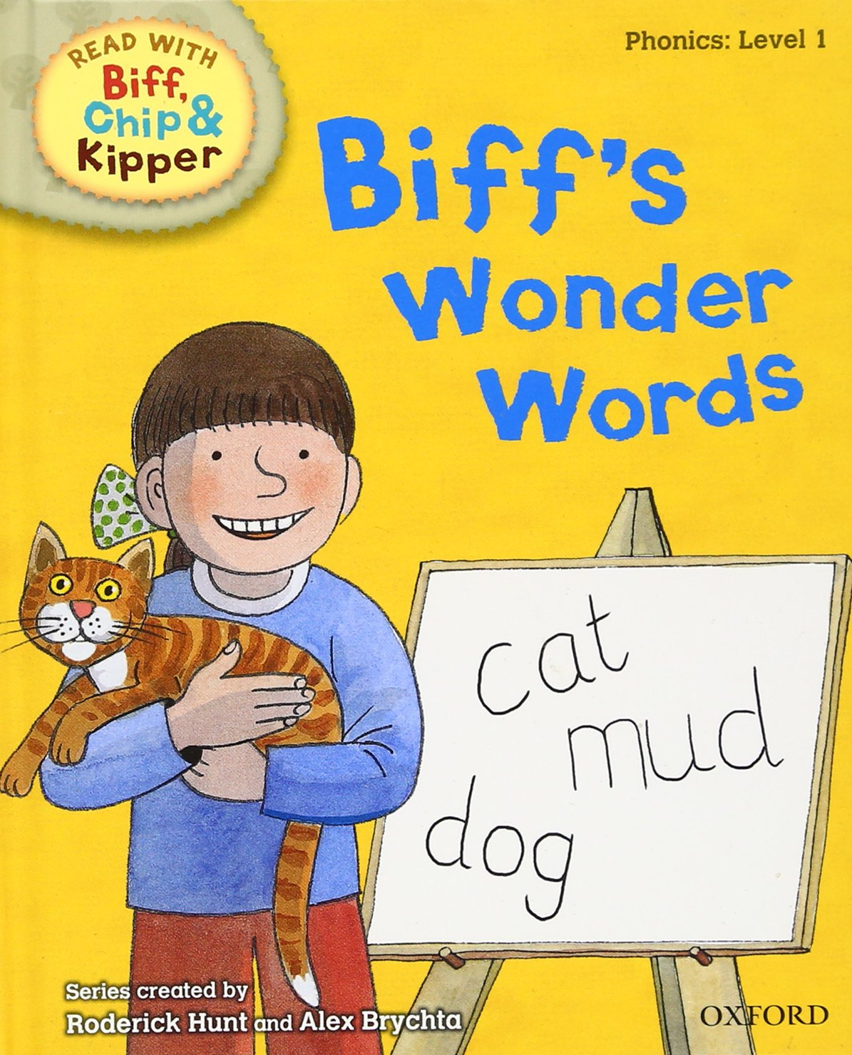 Download Oxford Reading Tree Read with Biff, Chip, and Kipper: Phonics: Level 1: Biff's Wonder Words (Read with Biff, Chip & Kipper. Phonics. Level 1) pdf epub