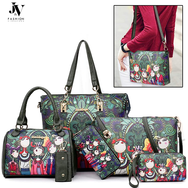 023084992 J V Fashions PU Leather Women Handbag