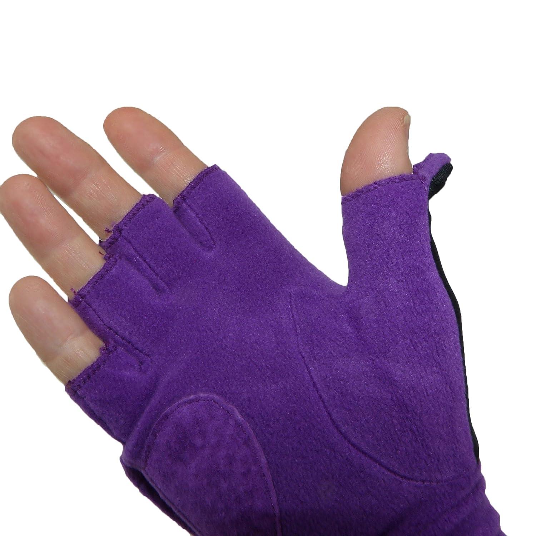 Fingerless gloves isotoner - Amazon Com Isotoner Women S Fleece Stretch Convertible Gloves With Thumb Hole 1 Size Black Clothing