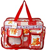 Bey Bee - Mama's Bag {Diaper Bag} (Red) - 18 Ltrs
