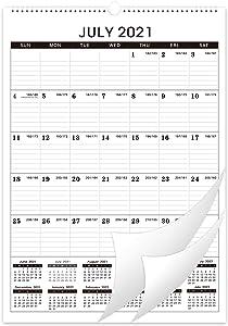 Calendar 2021-2022 - 18 Monthly Wall Calendar Planner July 2021 - December 2022, 12